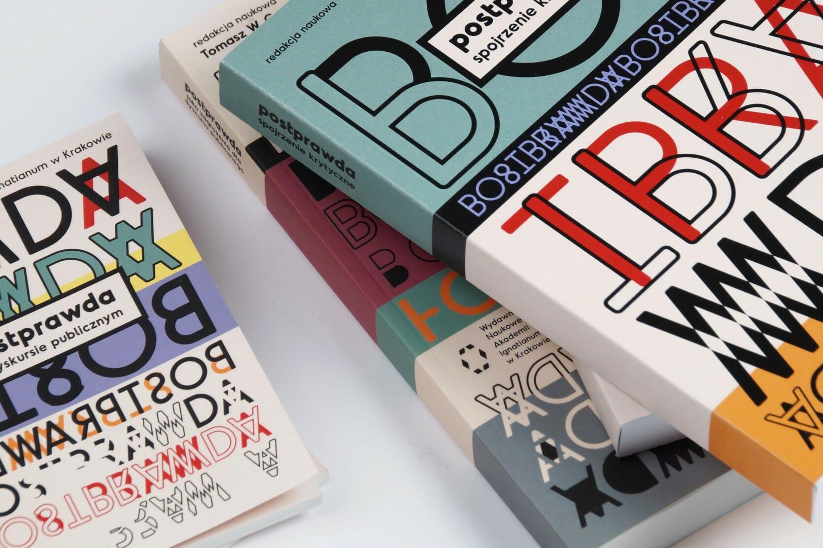 Elements of visual identity — programme, books — closeup
