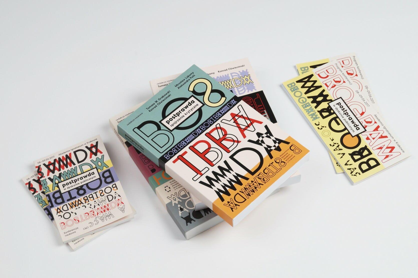 Elements of visual identity — programme, books, leaflet