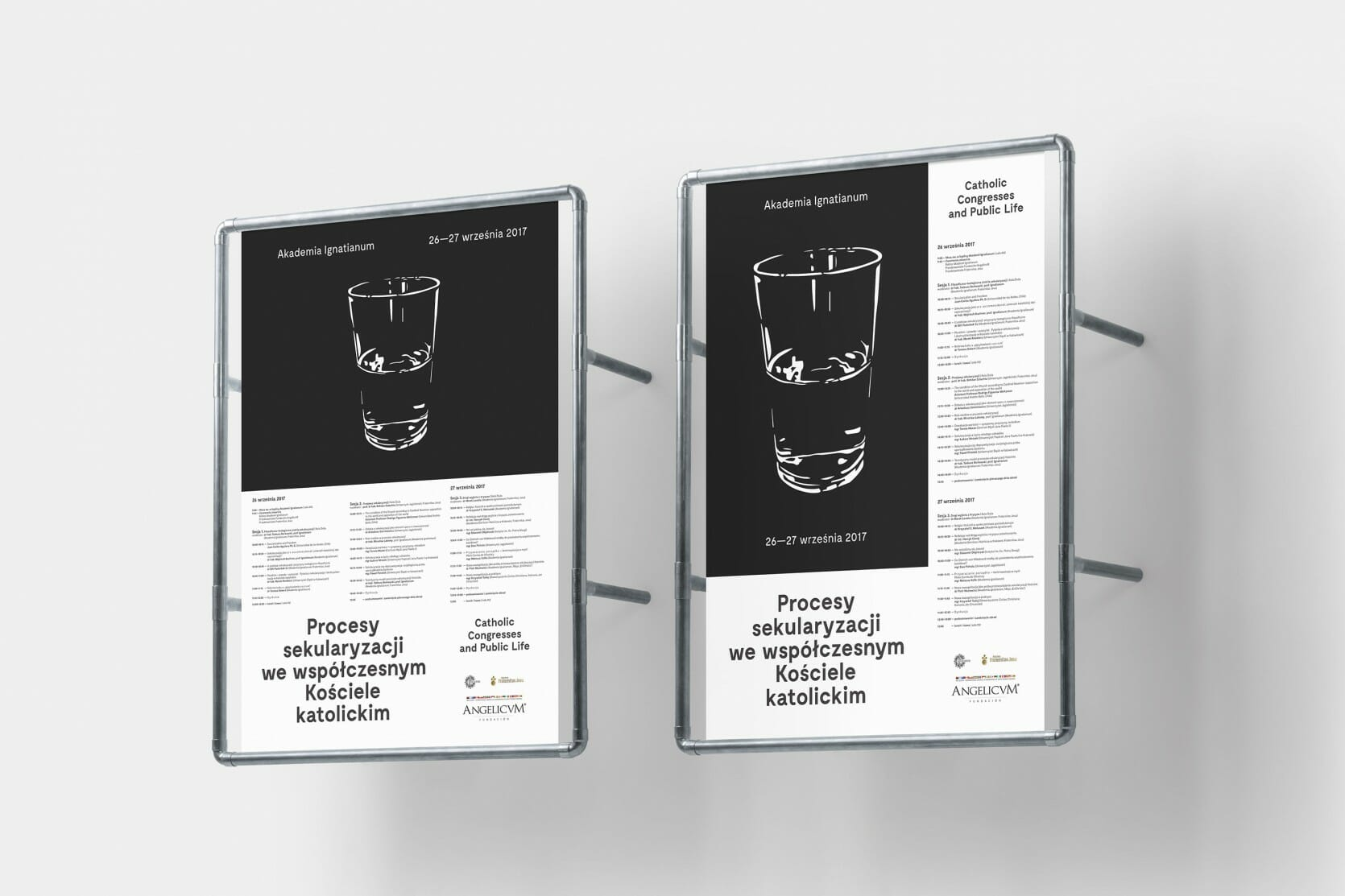 Posters — two versions