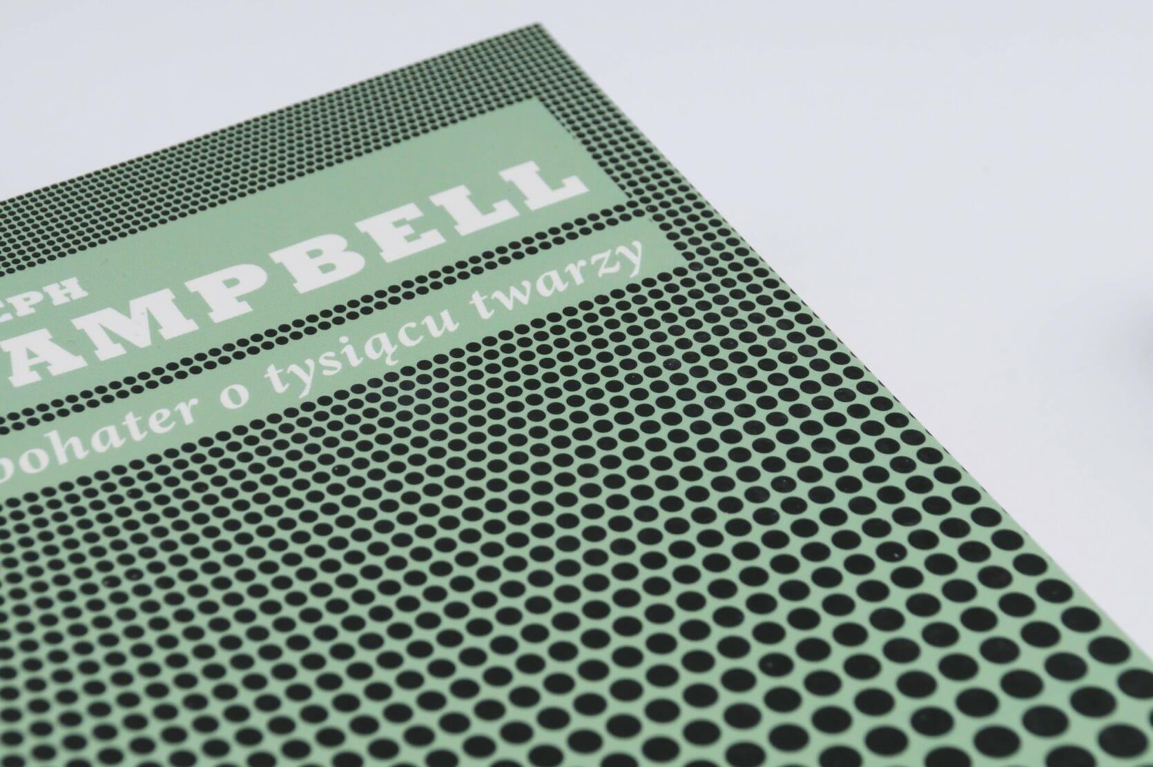Book cover closeup — Joseph Capmpbell, Bohater o tysiącu twarzy