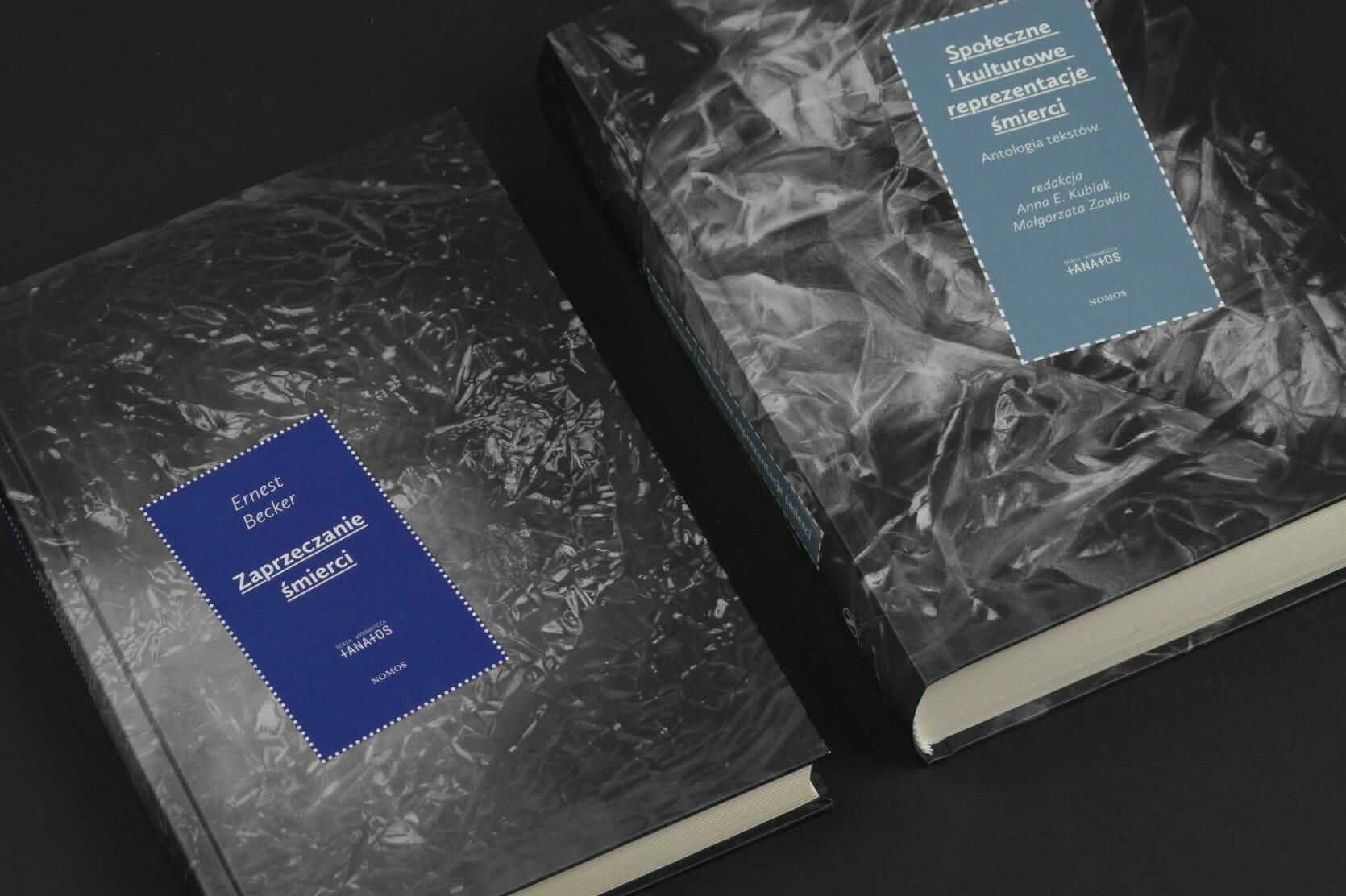 Thanatos Book series - two volumes together - closeup