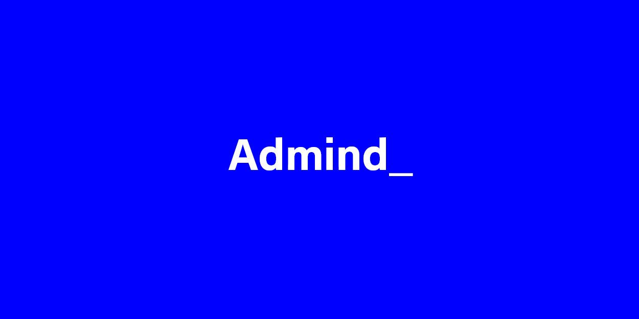 Logo Admind