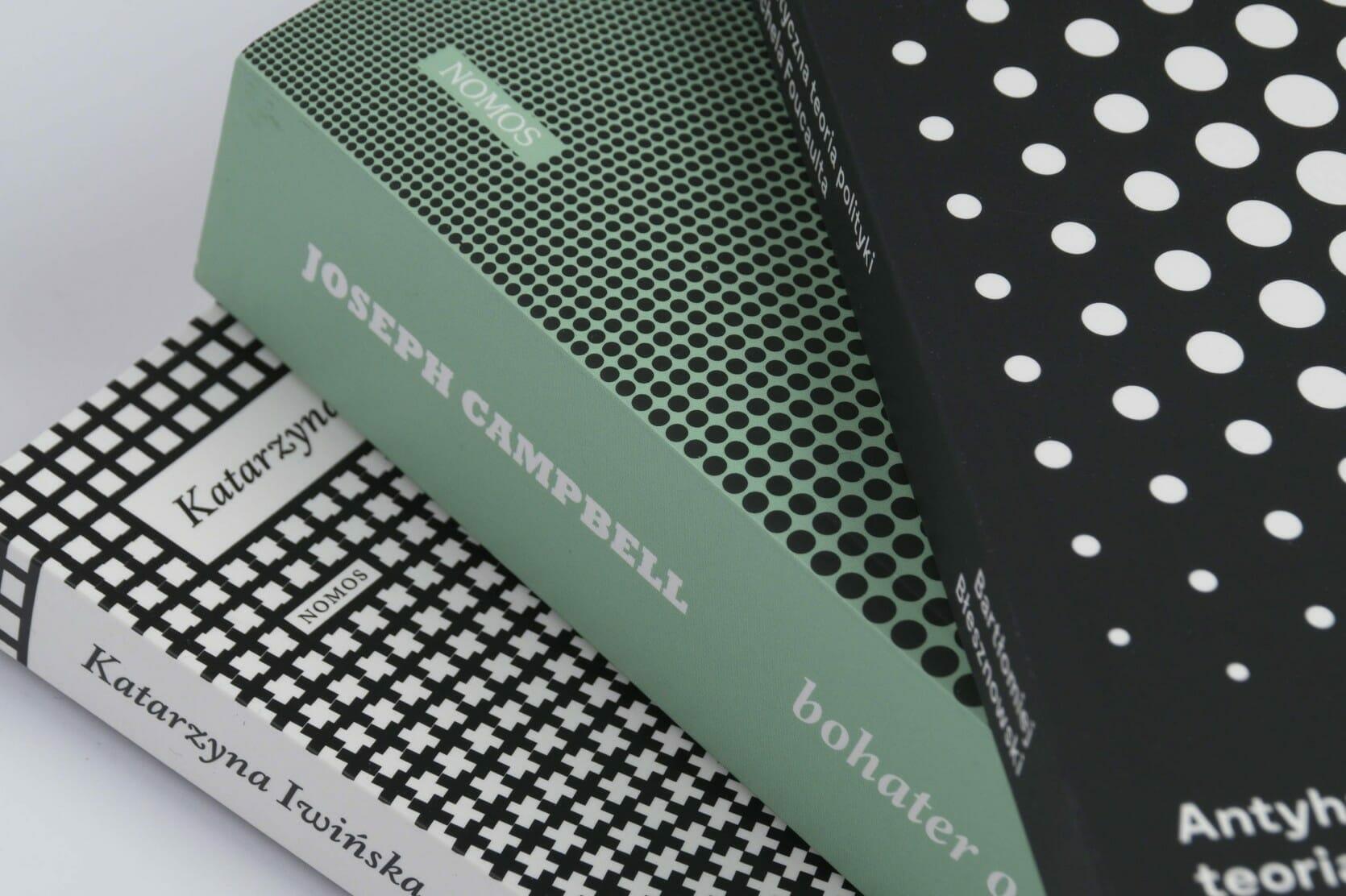 Op art book covers — closeup