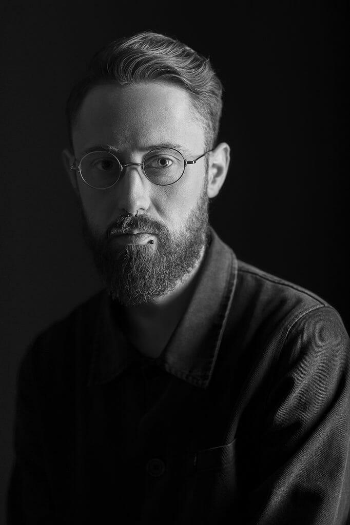 Portret of Michał Dziadkowiec (fot. Aleksander Karkowszka)