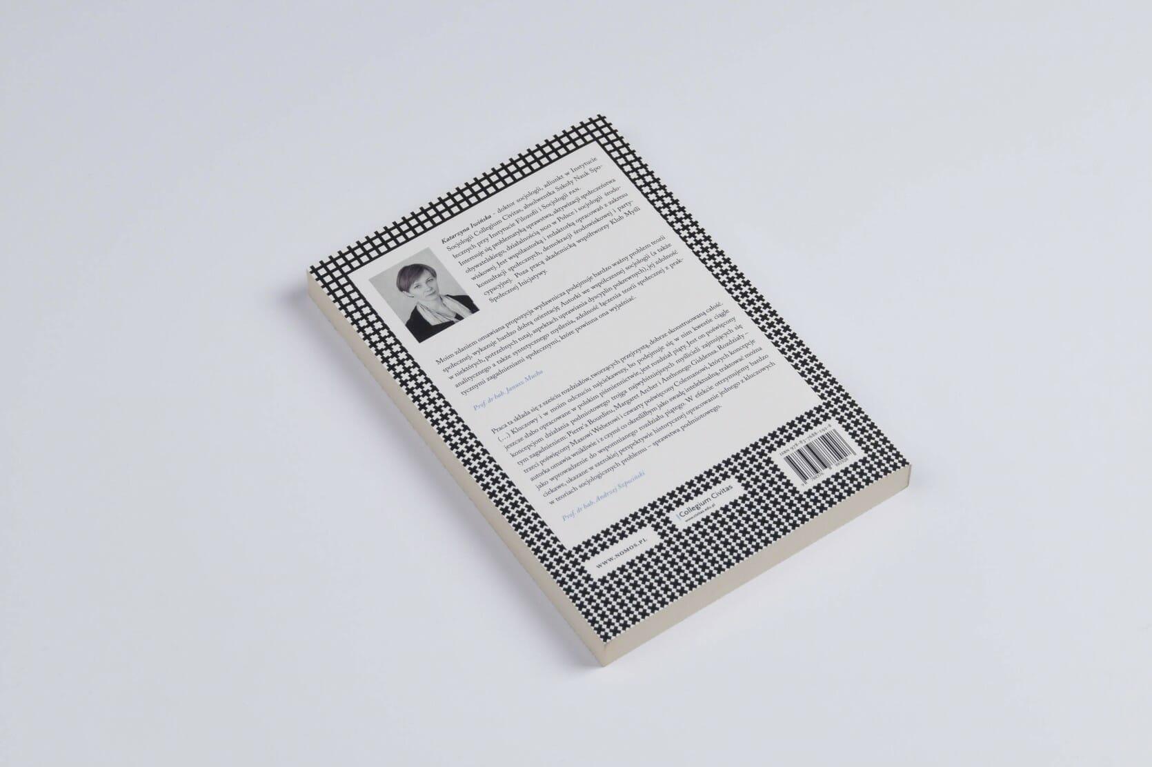 Book cover — Katarzyna Iwińska, Być i działać w społeczeństwie