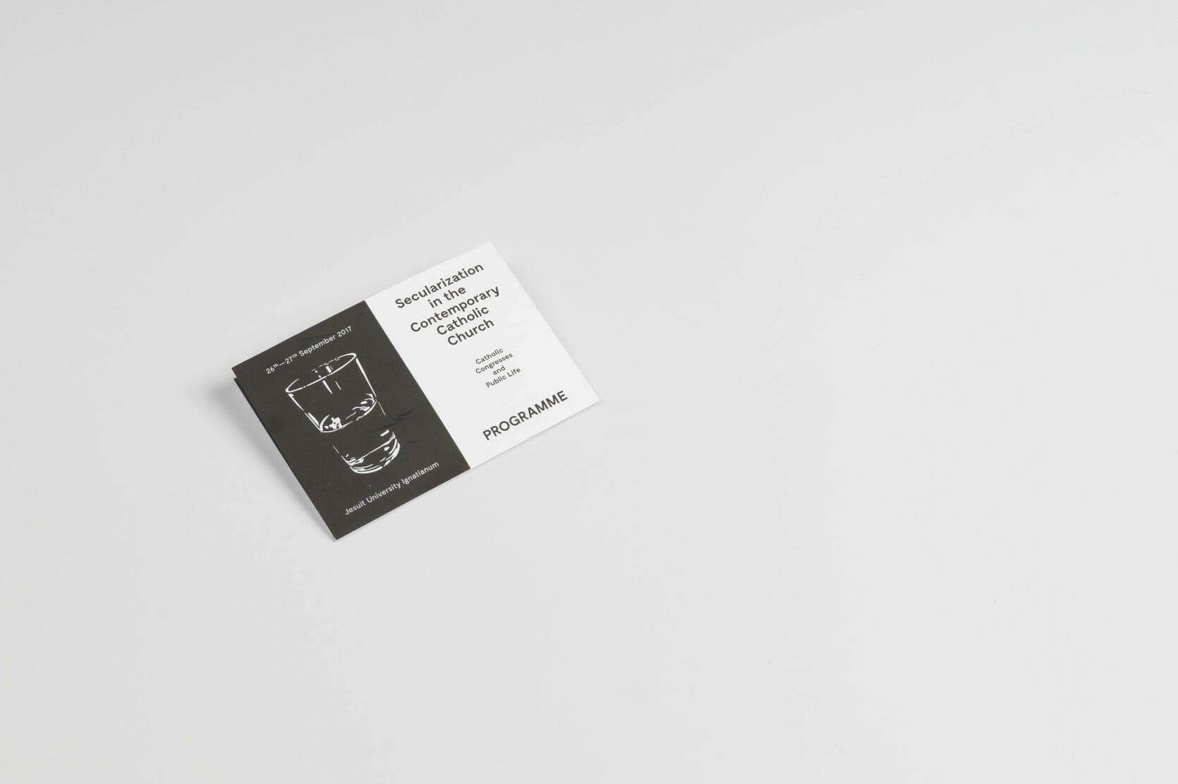 Leaflet — folded