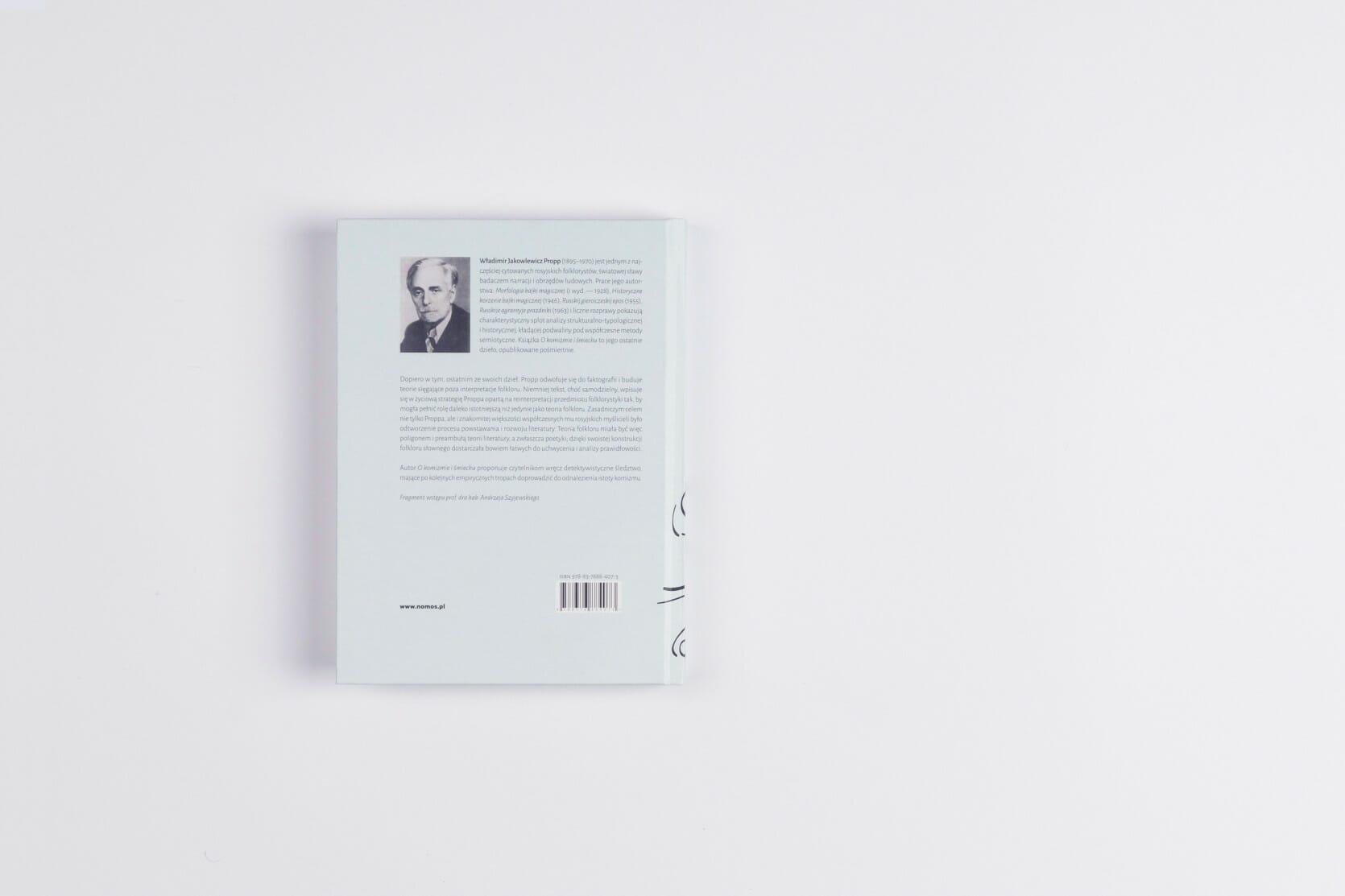 Book design - back cover