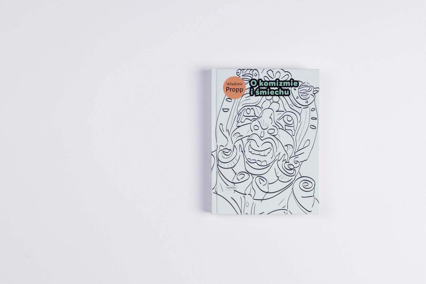 Book design - mascarone face - front cover