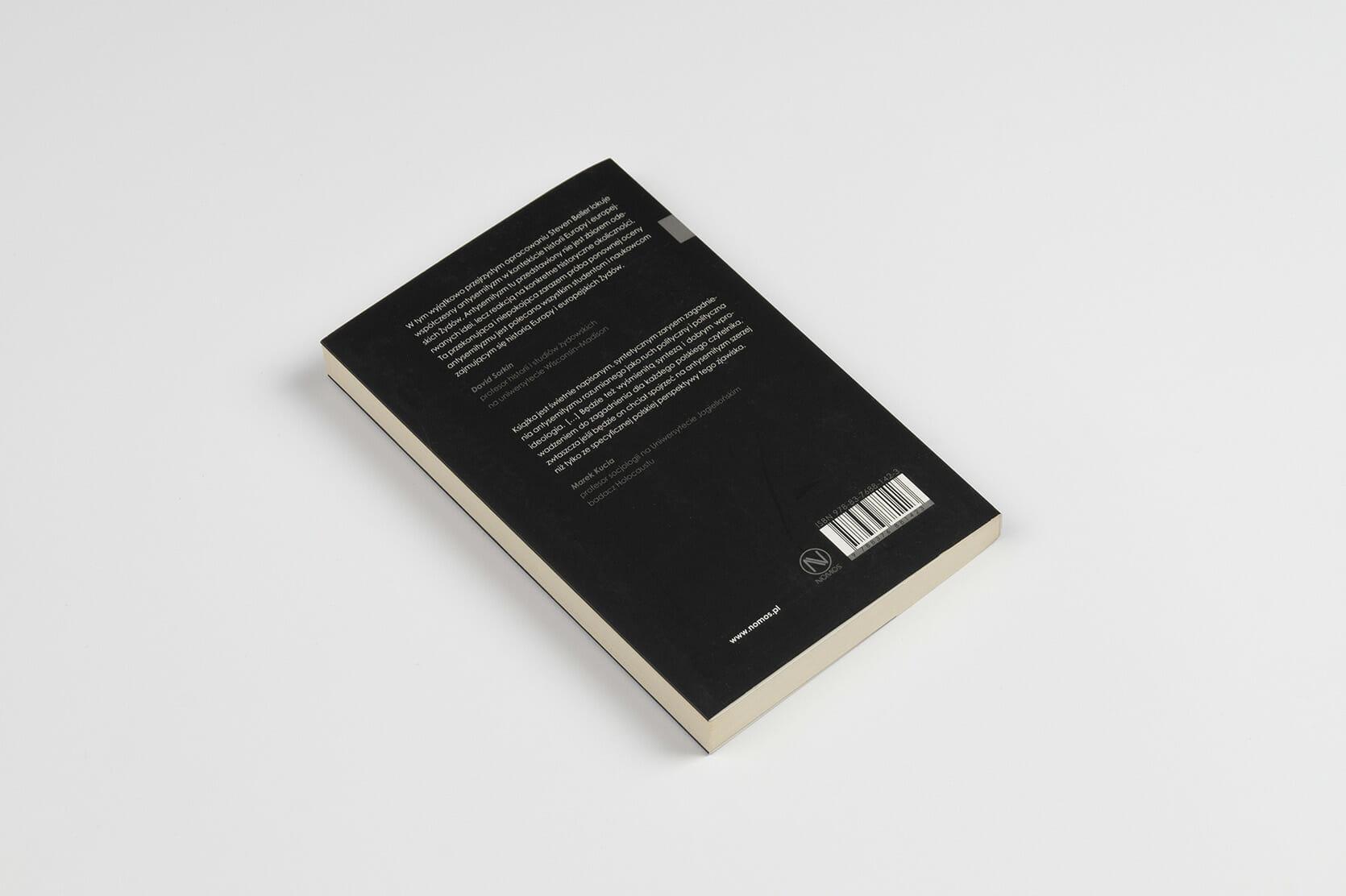 Antysemitism - book cover - beller